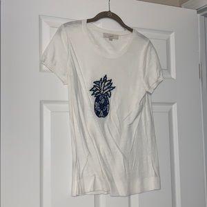 Loft pineapple t shirt